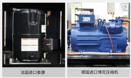 冷热冲击箱泰康压缩机