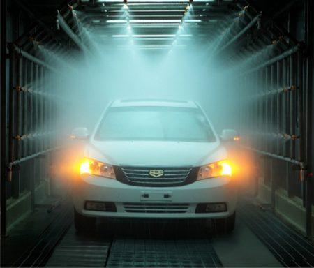 汽车淋雨试验